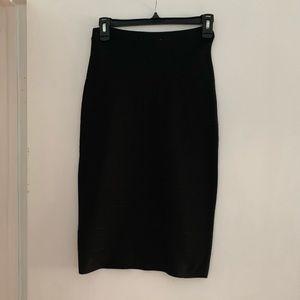 BB Dakota Black Skirt